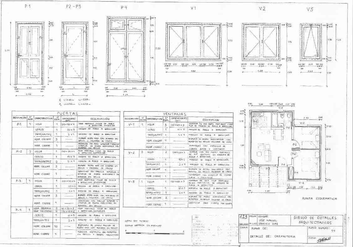 Pr ctica 8 for Representacion arquitectonica en planos